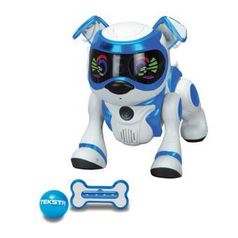 robot chien teksta puppy 5g reconnaissance vocale splash toys robots achat prix fnac. Black Bedroom Furniture Sets. Home Design Ideas