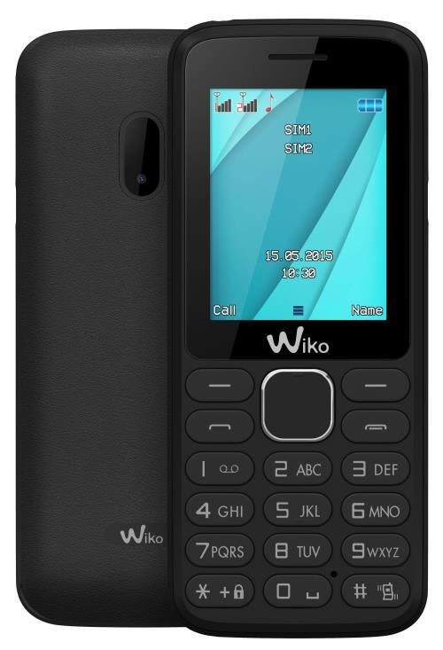Téléphone mobile Wiko Lubi 4 Noir