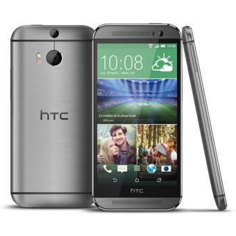 smartphone htc one m8 16 go gris acier smartphone sous android os achat prix fnac. Black Bedroom Furniture Sets. Home Design Ideas