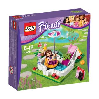 lego friends 41090 la piscine d 39 olivia lego achat. Black Bedroom Furniture Sets. Home Design Ideas