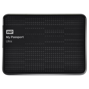 Disque dur externe sans SSD WESTERN DIGITAL MY PASSPORT ULTRA WDBZFP0010BBK NOIR 1TO