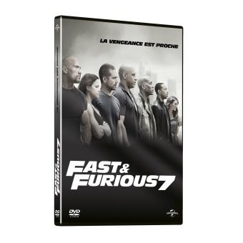 fast and furious fast furious 7 dvd zone 2 james wan alle tv series bij fnac. Black Bedroom Furniture Sets. Home Design Ideas