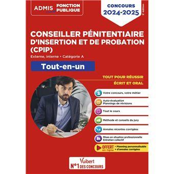 Concours Conseiller pénitentiaire d'insertion et de probation (CPIP), Catégorie B, Tout-en-un