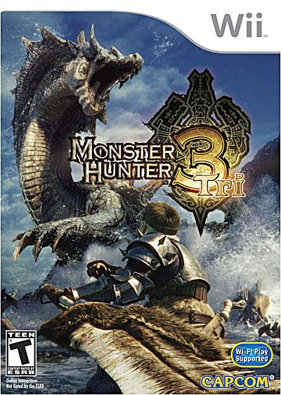 Monster Hunter Tri Nintendo Wii - Nintendo Wii