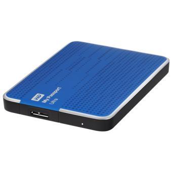 Disque dur externe sans SSD WESTERN DIGITAL MY PASSPORT ULTRA WDBZFP0010BBL BLEU 1TO