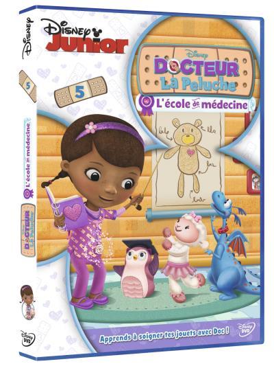 Docteur La Peluche Volume 5 L?école de médecine DVD
