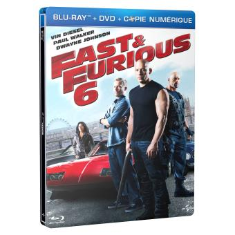 fast and furious fast and furious 6 blu ray blu ray justin lin vin diesel paul walker. Black Bedroom Furniture Sets. Home Design Ideas