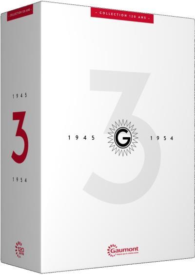 Coffret 120 ans Gaumont Volume 3 : 1945 - 1954 DVD