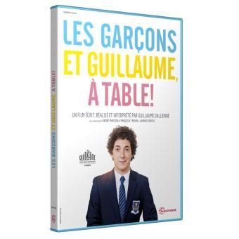 Les gar ons et guillaume table dvd dvd zone 2 - Guillaume et les garcons a table film complet ...