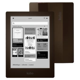 liseuse num rique kobo by fnac aura hd marron ebook achat prix fnac. Black Bedroom Furniture Sets. Home Design Ideas