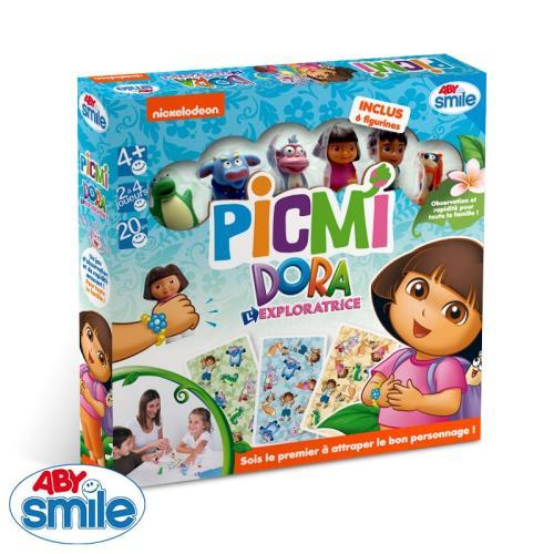 Un jeu d´observation et de rapidité aux couleurs de Dora ! Sois le premier à attraper le bon personnage ! Le principe est simple : on retourne une carte sur la table. Les joueurs l´observent et identifient le personnage qui apparaît le plus de fois sur ce