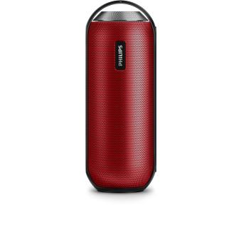 enceinte philips bt6000 red bluetooth mini enceintes. Black Bedroom Furniture Sets. Home Design Ideas