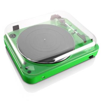 lenco l 85 green tourne disque 1 x usb vert platine d 39 coute achat prix fnac. Black Bedroom Furniture Sets. Home Design Ideas
