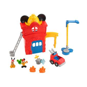 caserne de pompiers mickey fisher price autres figurines. Black Bedroom Furniture Sets. Home Design Ideas