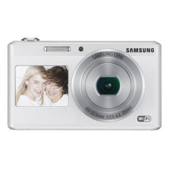 compact samsung smart camera dv180 blanc appareil photo. Black Bedroom Furniture Sets. Home Design Ideas