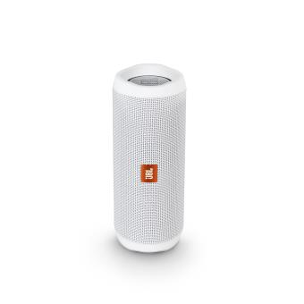 enceinte jbl flip 4 bluetooth blanc mini enceintes achat prix fnac. Black Bedroom Furniture Sets. Home Design Ideas