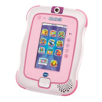 tablette ducative vtech storio 3 rose tablettes. Black Bedroom Furniture Sets. Home Design Ideas