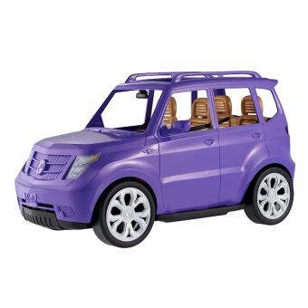 voiture 4 x 4 barbie violette voiture. Black Bedroom Furniture Sets. Home Design Ideas