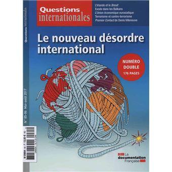 Le nouveau désordre international