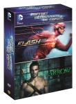 Coffret découverte DC Comics, l'intégrale des premières saisons: Flash + Arrow (DVD)