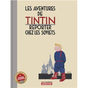 Tintin - Tintin, Edition couleur de luxe