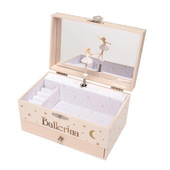 boite bijoux musicale f tiche de f licie ballerina. Black Bedroom Furniture Sets. Home Design Ideas