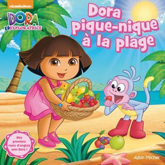 Dora l 39 exploratrice dora pique nique la plage - Dora a la plage ...