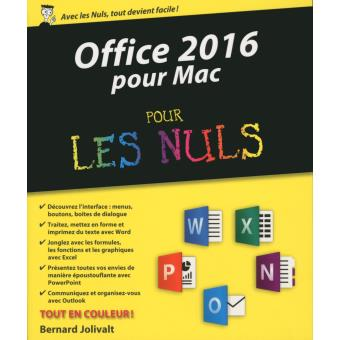 Microsoft office x mac pour les nuls broch bob levitus achat livre ou ebook achat - Prix pack office pour mac ...