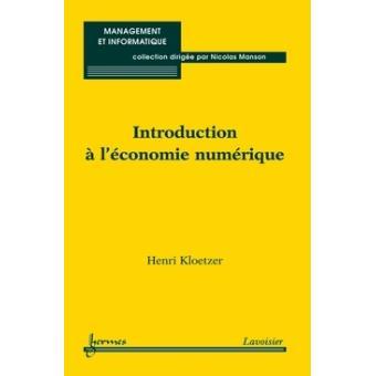 Introduction a l'economie nume
