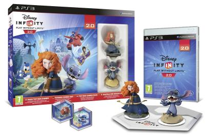 Pack Toy box Combo Disney Infinity 2.0 Originals PS3 Pack de démarrage - PlayStation 3