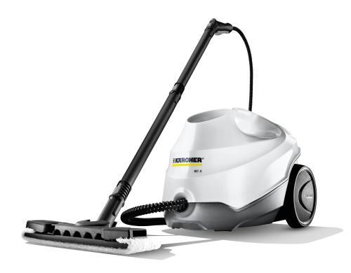 Kärcher SC 3 Premium Nettoyeur vapeur - Blanc/gris Aspirateur avec sac Karc