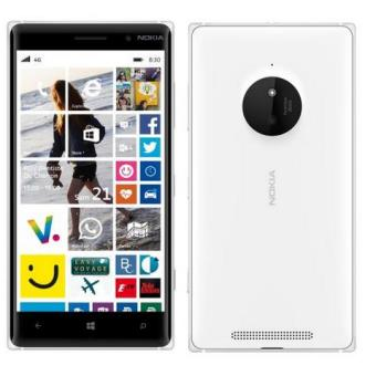 nokia lumia 830 blanc 4g lte 16 go gsm windows phone t l phone mobile sans. Black Bedroom Furniture Sets. Home Design Ideas