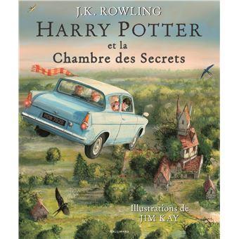 Harry potter version illustr e harry potter et la - La chambre des officiers livre ...