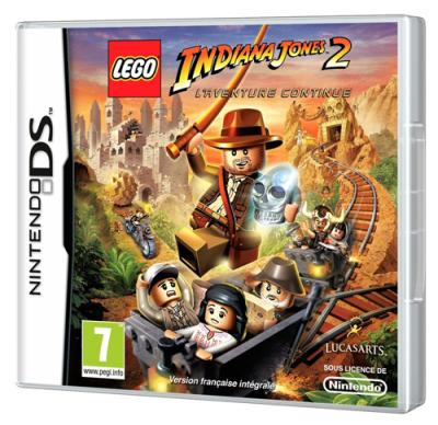 Lego Indiana Jones L'Aventure continue DS - Nintendo DS