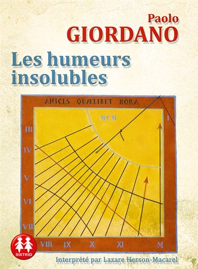 [LIVRE AUDIO] PAOLO GIORDANO - LES HUMEURS INSOLUBLES [MP3 128KBPS]