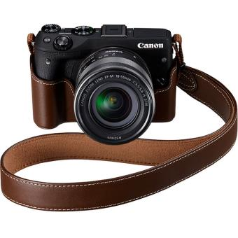 Canon EOS M3 + EF-M 18-55mm f/3.5-5.6 IS STM + Camerahoes Zwart