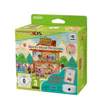 Animal Crossing Happy Home Designer + Lecteur/Enregistreur NFC 3DS + 1