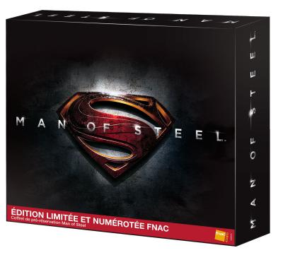 Man of Steel - Coffret de pré-réservation - Edition Limitée et Numérotée Fnac
