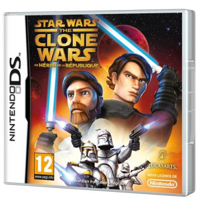 Star Wars The Clone Wars les Héros de la République DS - Nintendo DS