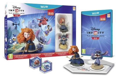 Pack Toy box Combo Disney Infinity 2.0 Originals Wii U Pack de démarrage - Nintendo Wii U