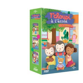 T 39 choupi l 39 cole coffret dvd dvd zone 2 lionel - T choupi va a l ecole ...