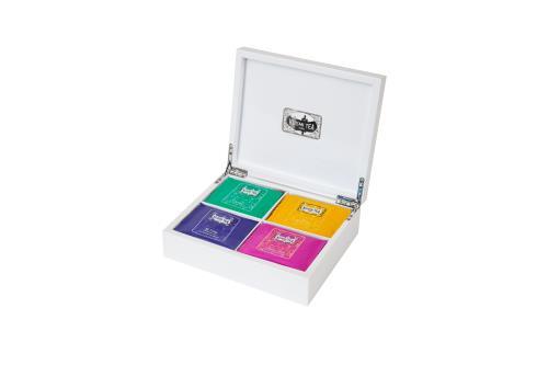 Image du produit Coffret de 20 sachets de thé Kusmi Tea Pianowhite Bien-Etre