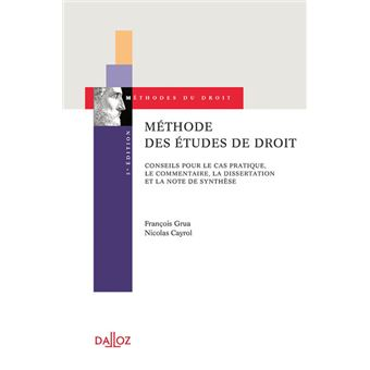 Dissertation methode droit