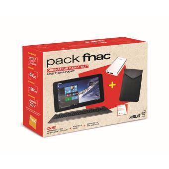 pack fnac tablette pc asus transformer book t100ha fu040t. Black Bedroom Furniture Sets. Home Design Ideas