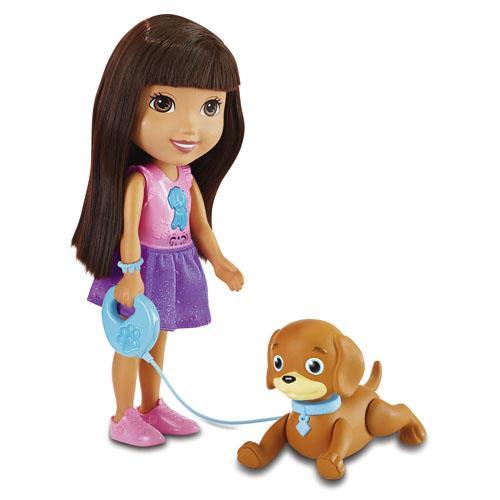 Tu vas adorer aider Dora à dresser son chiot, Perrito ! Perrito répond comme par magie aux ordres de Dora ! Rejoins Dora et Perrito pour un formidable moment entre amis ! Tu peux aider Dora à promener Perrito et à lui apprendre à obéir pour qu´il s´assoit