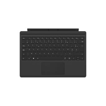 etui clavier microsoft type cover pour surface pro 4 noir claviers pour tablette achat. Black Bedroom Furniture Sets. Home Design Ideas