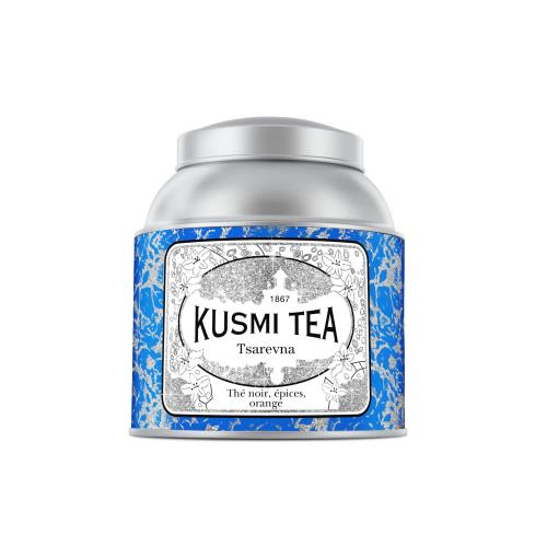 Image du produit Boîte à thé de Noël en métal Kusmi Tea Tsarevna