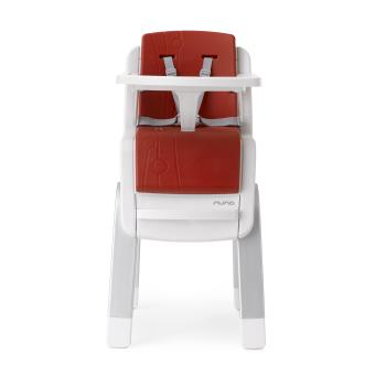 chaise haute volutive zaaz nuna rouge produits b b s. Black Bedroom Furniture Sets. Home Design Ideas