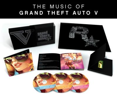 Music of Grand Theft Auto V GTA - Edition limitée 3 CD