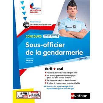 Concours sous officier de gendarmerie cat gorie b livre - Grille salaire sous officier gendarmerie ...